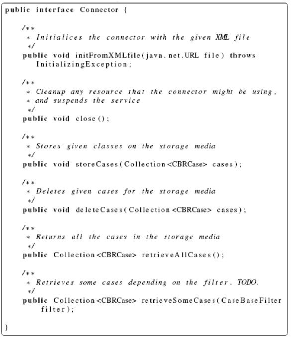 jCOLIBRI Framework Connector