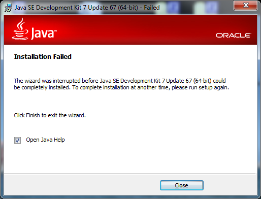 Installing the JDK on a Windows machine without administrator