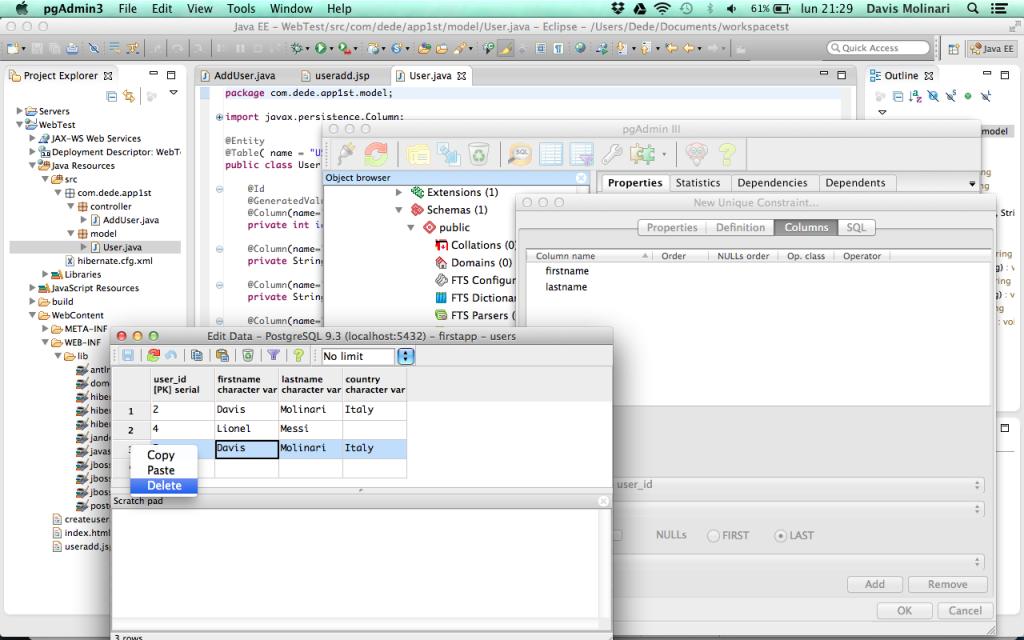PostgreSQL remove duplicate record