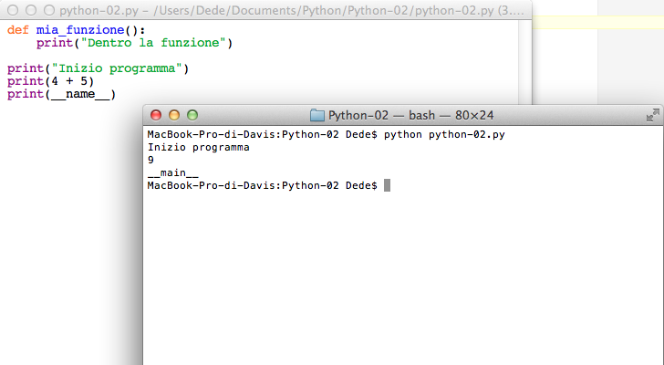 Python __name__ variable