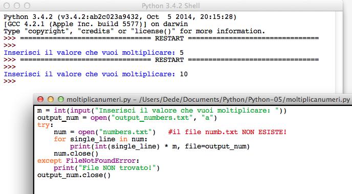 Python open file a mode