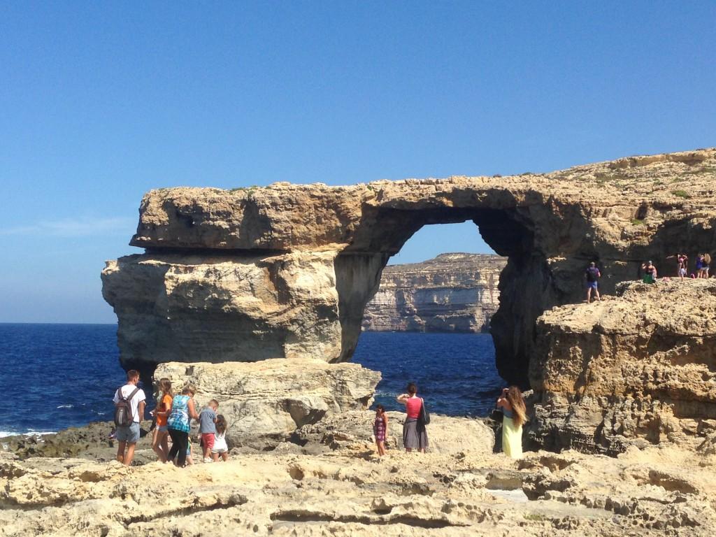 The Azure Window, The Blue Hole, Gozo Island, Malta