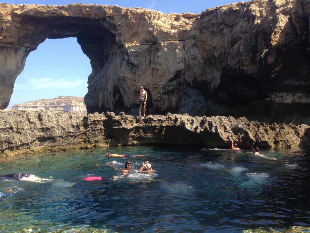 The Blue Hole, Gozo Island, Malta