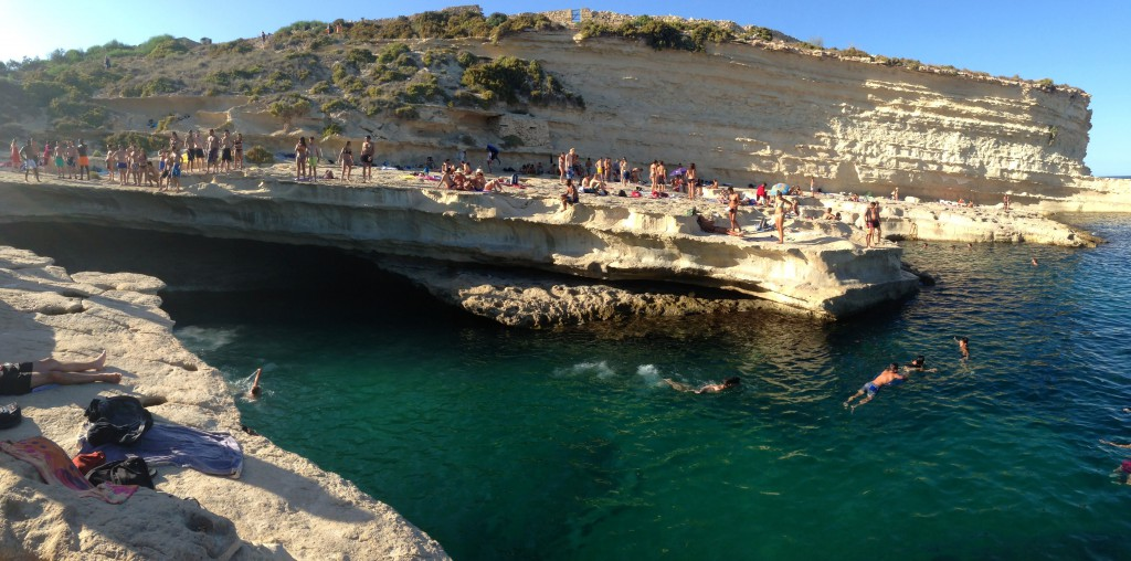 St Peter's Pool Malta and Gozo