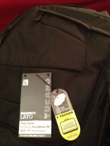 Zaino Tucano Lato Backpack