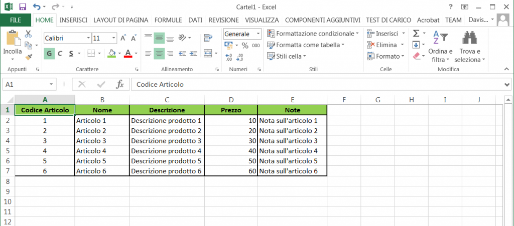 Word VBA - Excel table to export in the word document