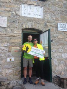 Finisher del Palaronda Soft Trek al Rifugio Canali-Treviso