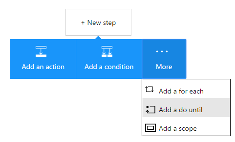 Azure Logic App new Do Until construct