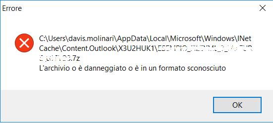 Azure Logic App: Errore formato file allegato