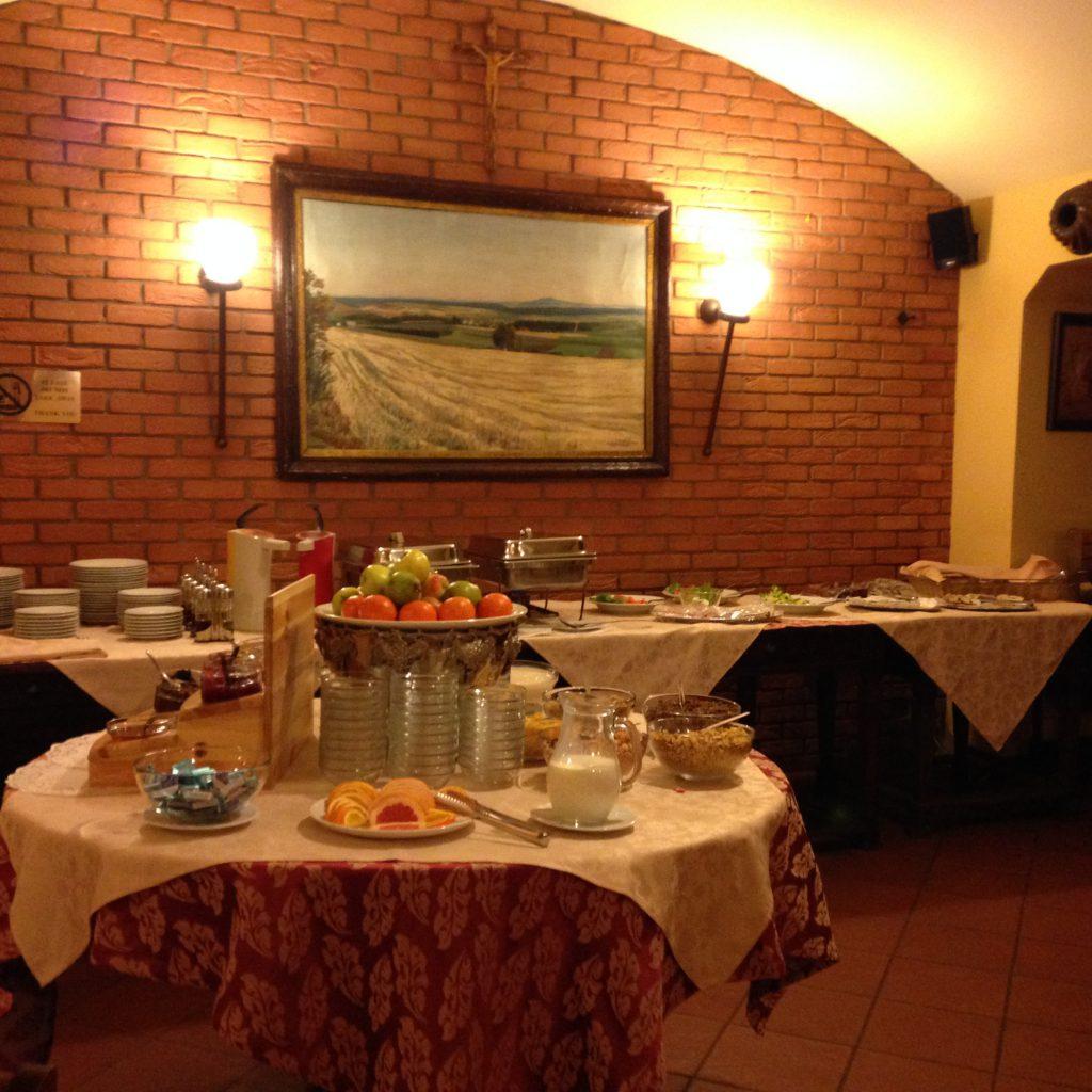 Hotel La Fenice Praga colazione buffet