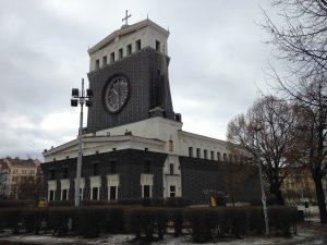 Praga Chiesa del Sacro Cuore di Nostro Signore