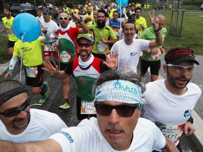 Pacer 30km alla Wings For Life 2017 Milano