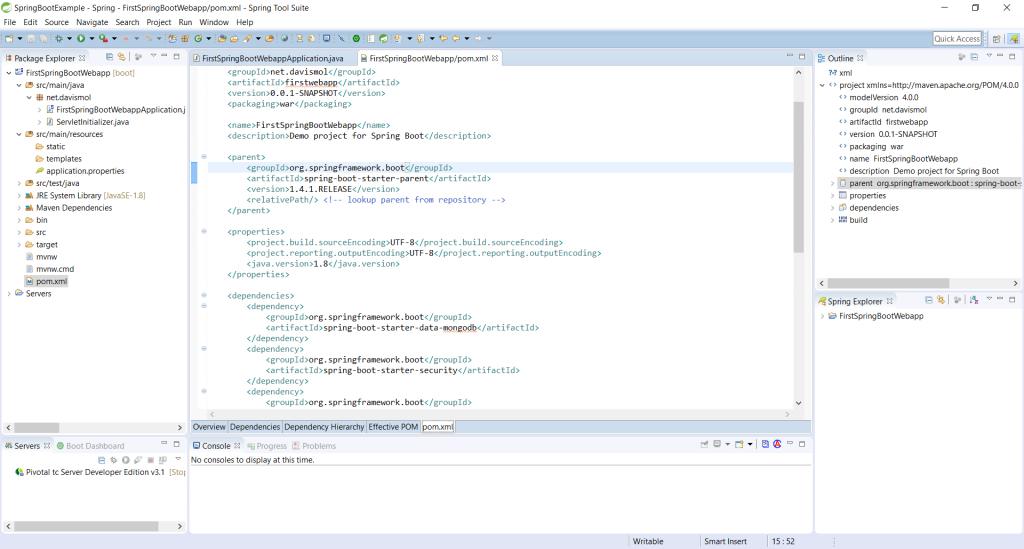 05 - New project POM dependencies